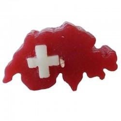 Schwimmkerze Schweizer-Karte