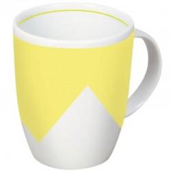 Pure Life - gelbe Porzellan-Tasse