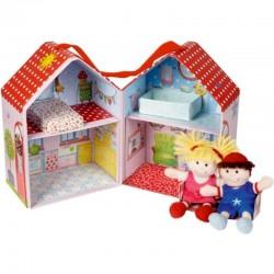 Baby Glück Mini-Puppenhaus