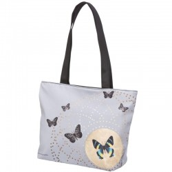 Grey Butterflies - Shopper gross Joanna Charlotte