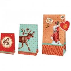 Geschenktüten-Set Wintermärchen