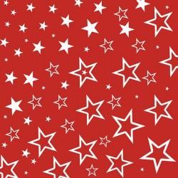 Lunch Servietten Starry Sky Red