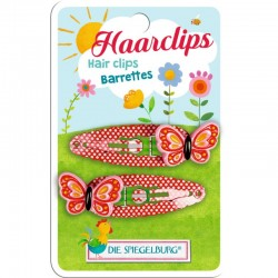 Garden Kids Haarclips Schmetterling