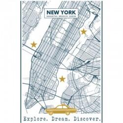 Reisezeit Geschirrtuch New York