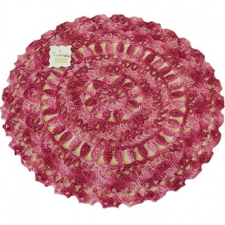 tischdecke rosa rot rund. Black Bedroom Furniture Sets. Home Design Ideas