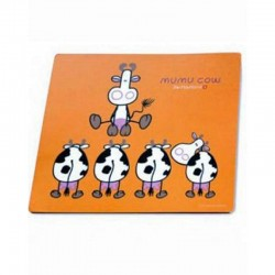 Mumu Cow - Mouse Pad orange