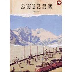 Notizheft Schweiz Vintage