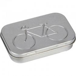 Fahrrad Flickzeug ERSTHELFER silber