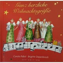 Geschenkbuch - Ganz herzliche Weihnachtsgrüsse