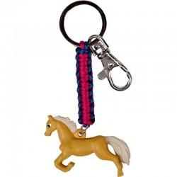 Pferdefreunde - Schlüsselanhänger Pferd hellbraun
