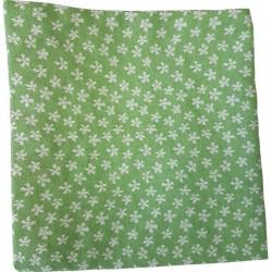 Dekokissen Blüemli Grün