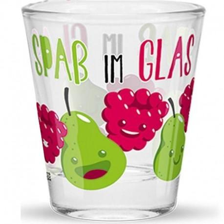 Schnapsglas Spass im Glas