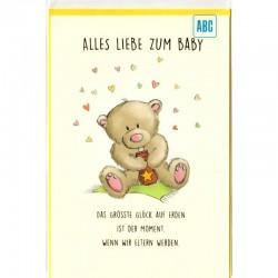 Baby Karte Bärchen