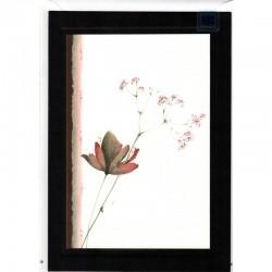 Trauerkarte Herbstblumen A5