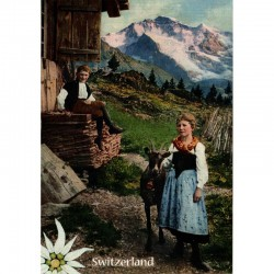 Postkarte Heidi und Peter