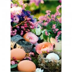 Postkarte Blumen Frühling