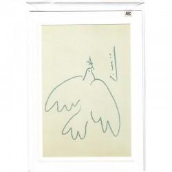 Blankokarte Friedenstaube Picasso