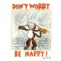 Postkarte Don't worry