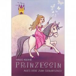 Geburtstagskarte kleine Prinzessin