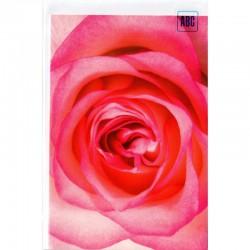 Blankokarte Rose rosarot
