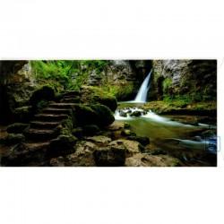 Blankokarte Natur Wasserfall