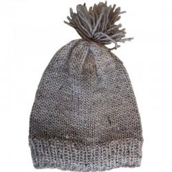 Mütze gestrickt naturell