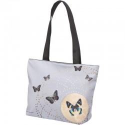 Grey Butterflies - Shopper klein Joanna Charlotte