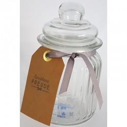 Pfefferminz-Bonbons im Glas