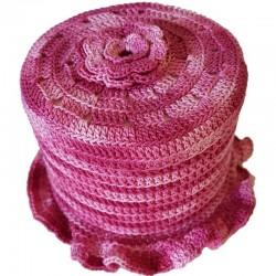 WC Rollen Hut Pink