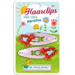 Garden Kids Haarclips Vogel