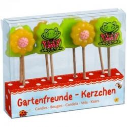 Garden Kids Gartenfreunde-Kerzchen