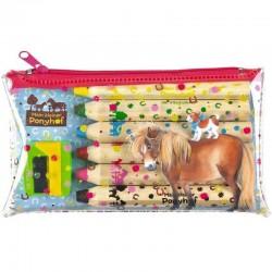 Mein kleiner Ponyhof Buntstifte-Set