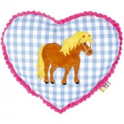 Mein kleiner Ponyhof - Kuschelkissen blau
